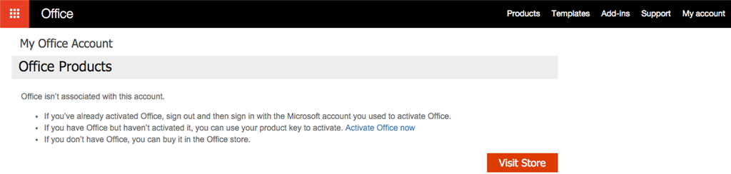 Office 2016 for Mac - Activation doesn't work - Microsoft