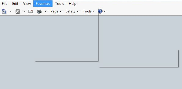 transparent invisible favorite drop down in ie11 microsoft community