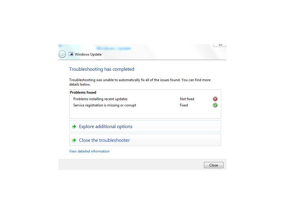 Windows Update Error Codes - Microsoft Community