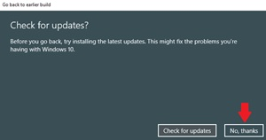 Rollback from Windows 10 Build 18947 #6