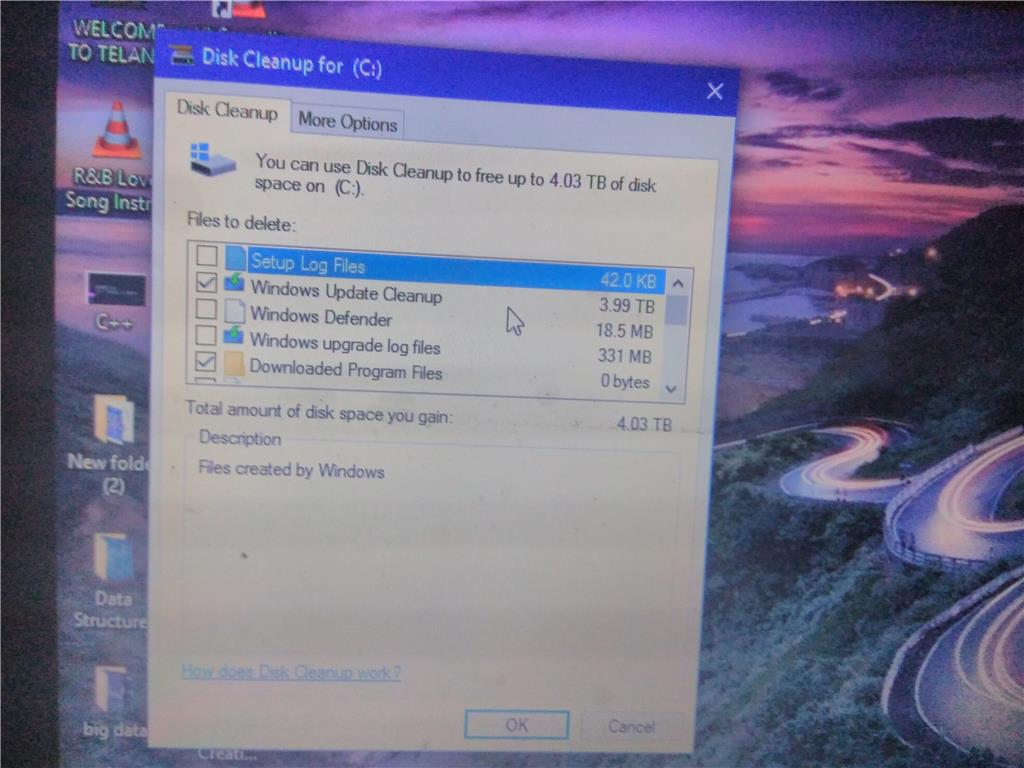 How to delete windows.old files from your system - step 3