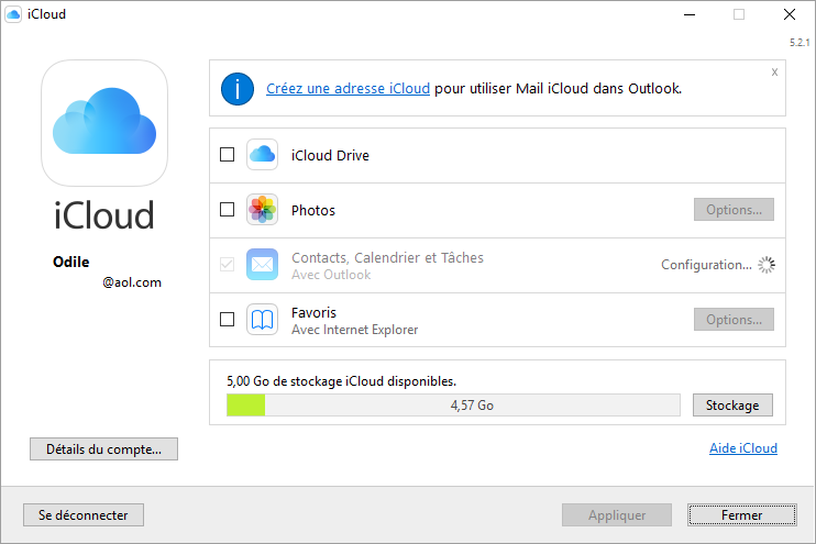 Synchronisation Calendrier Outlook.Synchronisation Icloud Avec Outlook 2016 A L Aide