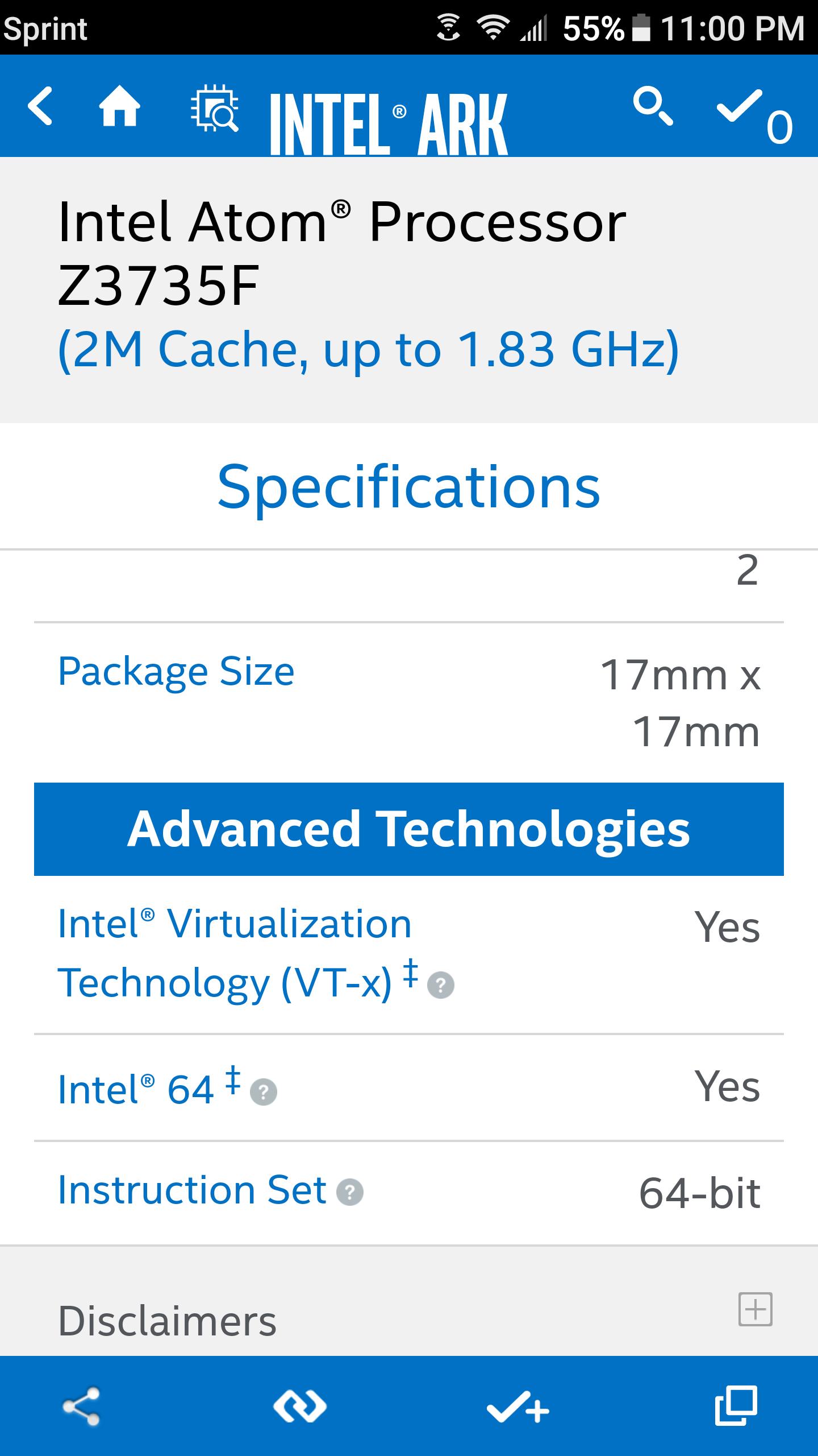 win 10 64 bit tablet