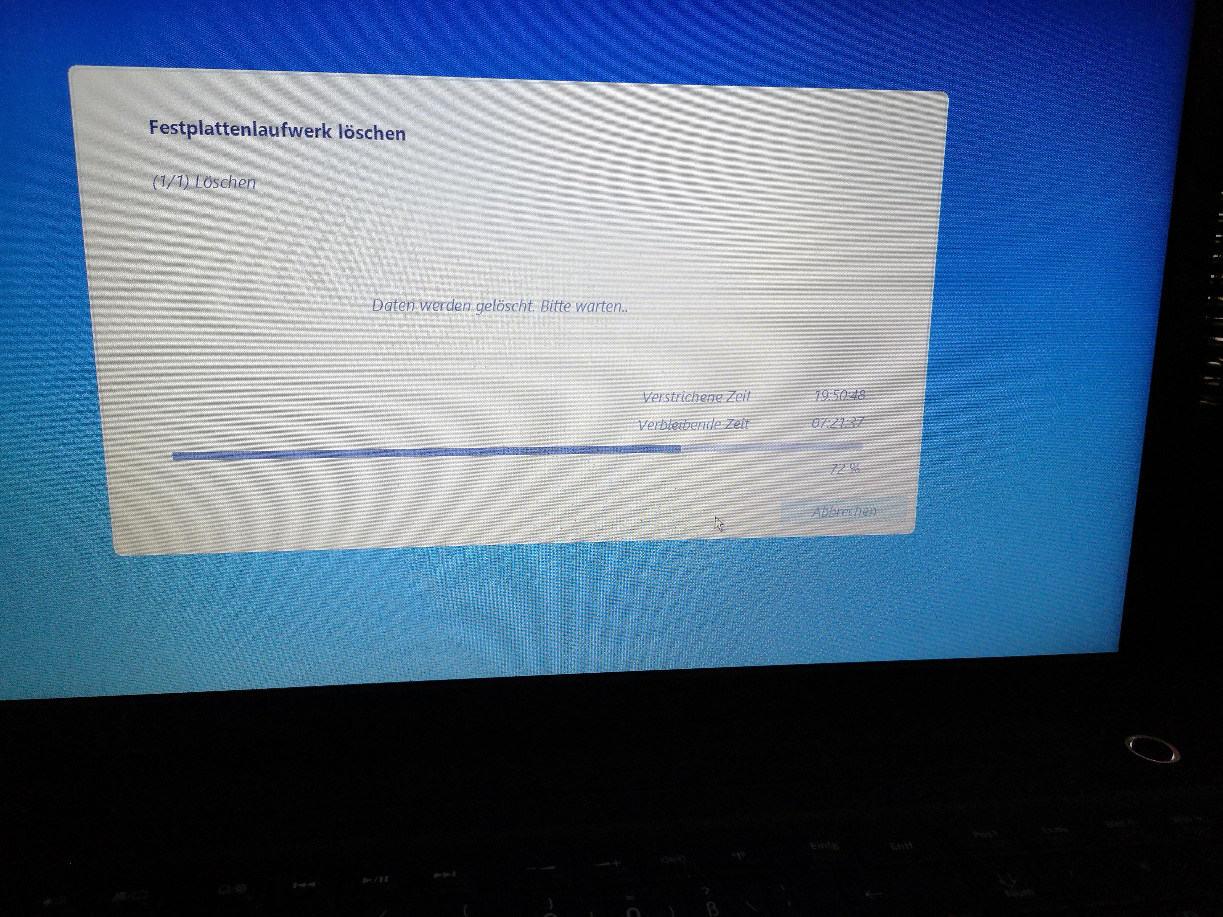 0x80070015 Win10 Update Fehler