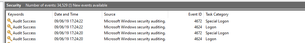Windows 10 1903 weird 'Asterisk' sound every hour and on some