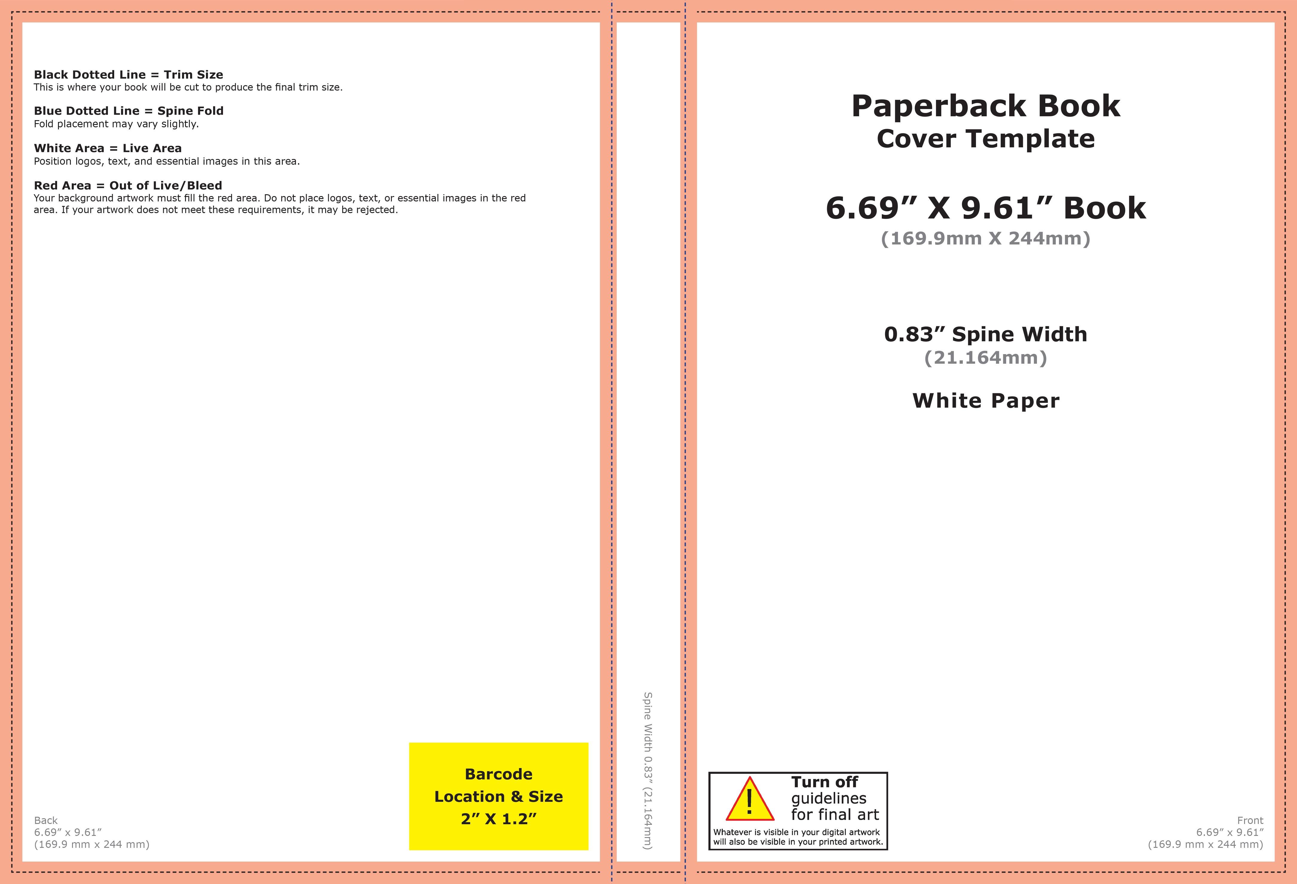 Using Word to create a KDP book cover - Microsoft Community In 6x9 Book Template For Word
