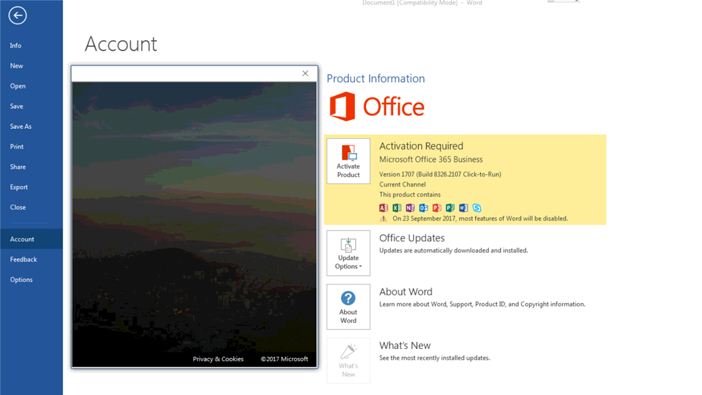 Activation of office 365 - Microsoft Community