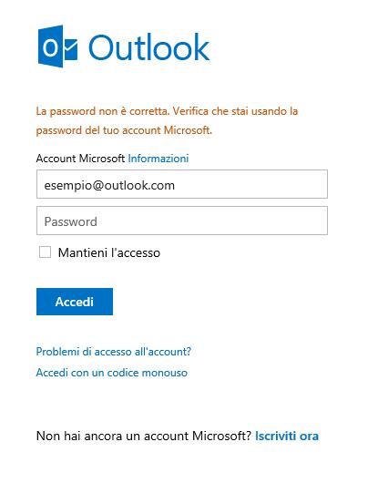 Stai riscontrando dei problemi ad accedere al tuo account for Il tuo account e stato attaccato