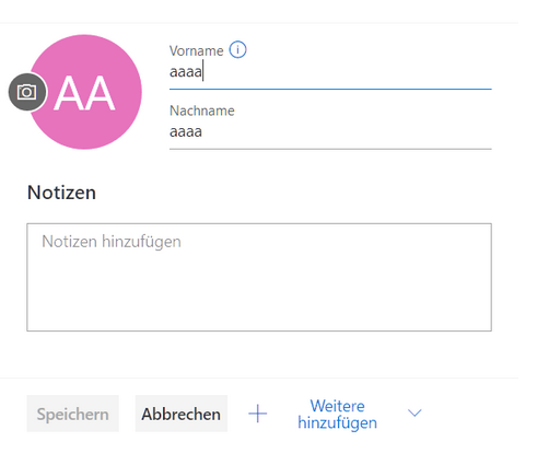 Windows 10 kontakte lokal speichern