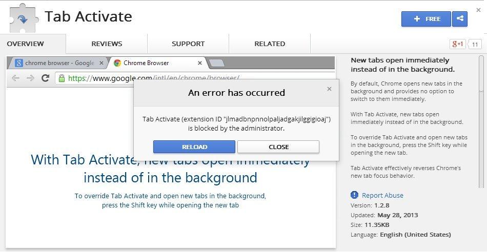 google chrome will not install on windows 8.1