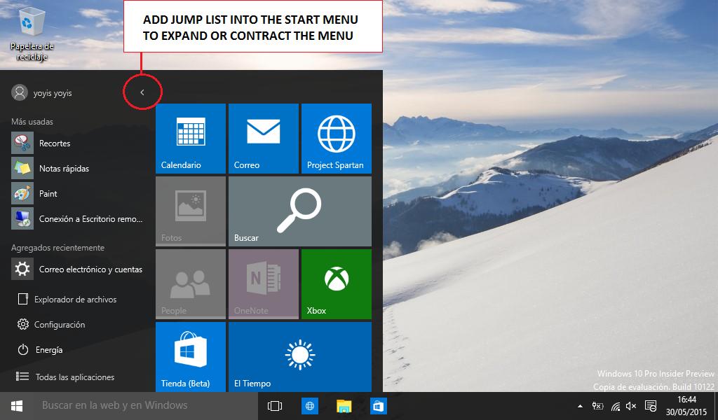 how to add to start menu windows 10