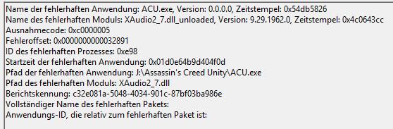 Problem with XAudio2_7 dll / Win 10 64x - Microsoft Community