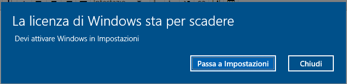 La licenza di windows 10 sta per scadere microsoft community for La licenza di windows sta per scadere