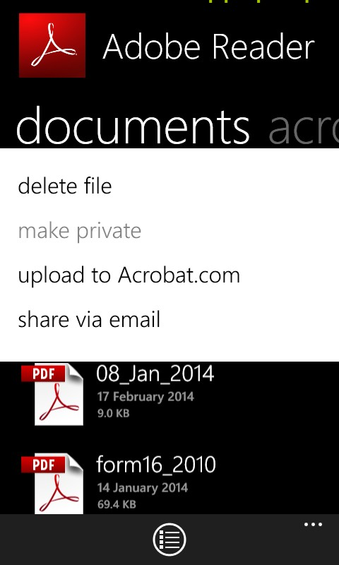 1 Microsoft Way Redmond Transaction: How To Work With PDFs On Windows Phone 8 In A Way That