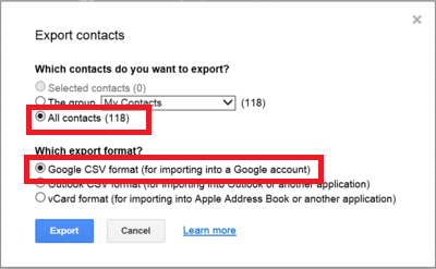 Transfering Gmail/Yahoo Contacts to Outlook com - Microsoft