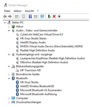 Problem connecting a bluetooth loudspeaker in windows 10 - Microsoft