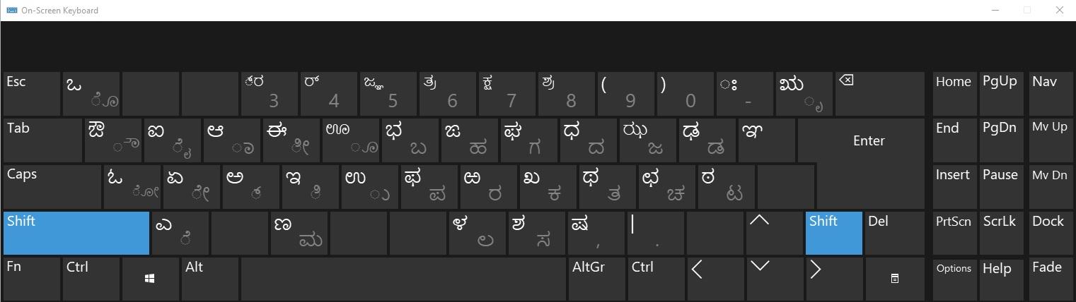 Kannada Typing In Computer