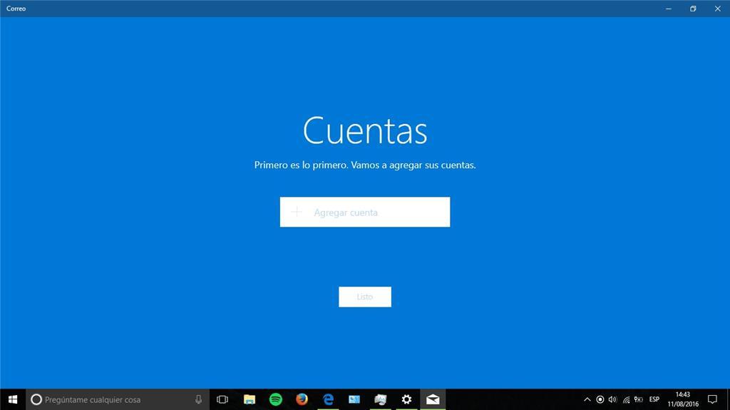 configuraciones de inicio Windows