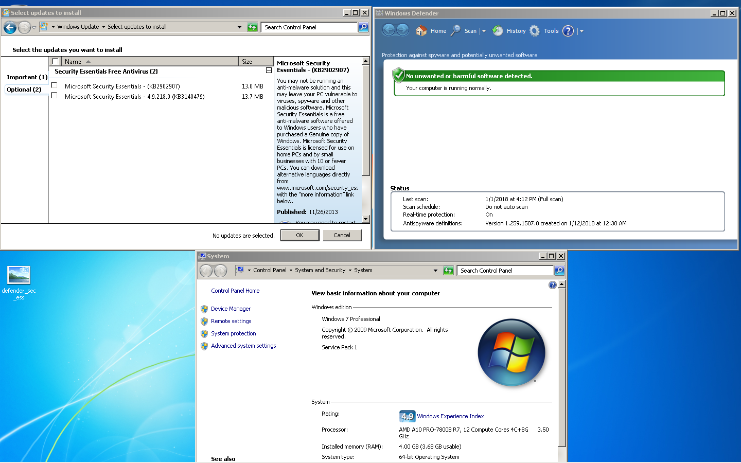 Do I need a defender of Windows 7: user reviews. How to enable and disable Windows 7 protector 77