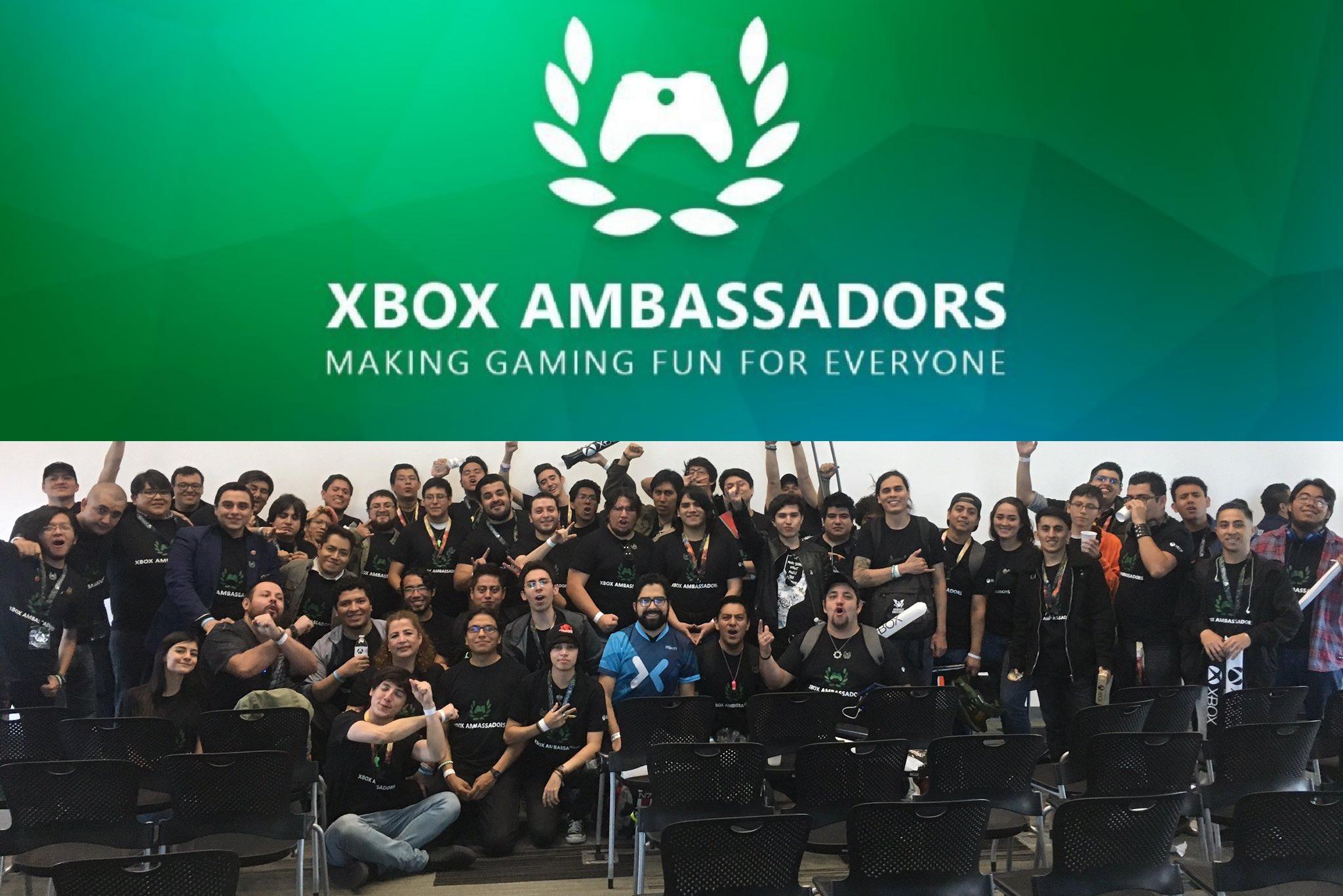 Xbox Ambassadors on Mexico... Already started! [IMG]