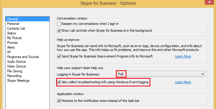 Skype for Business keeps crashing when joining meeting, and