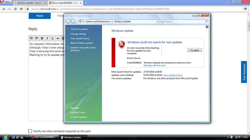 Unable To Install Certain Windows Updates Solved Windows 7