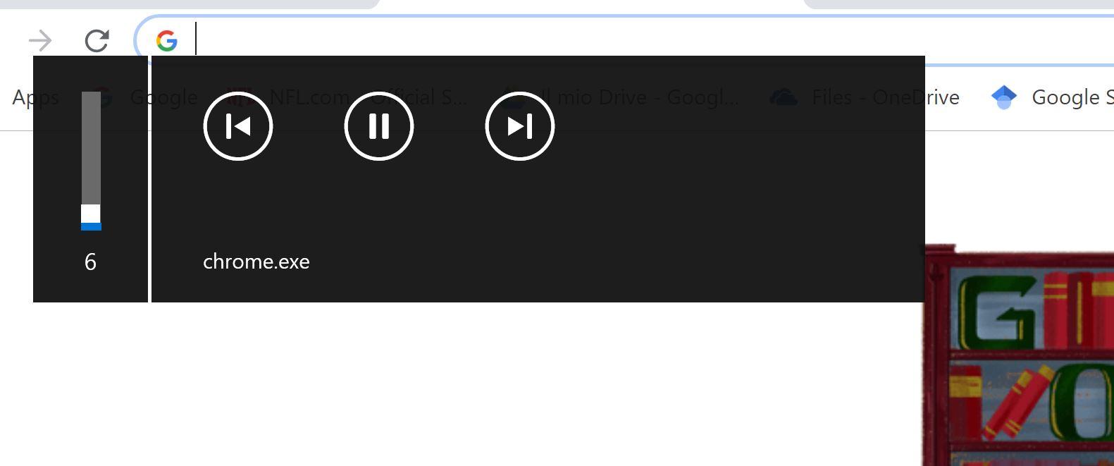 Volume bar banner - Microsoft Community