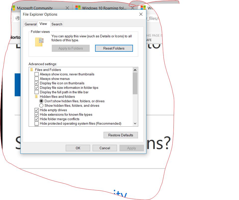 Windows 10 Roaming folder  - Microsoft Community
