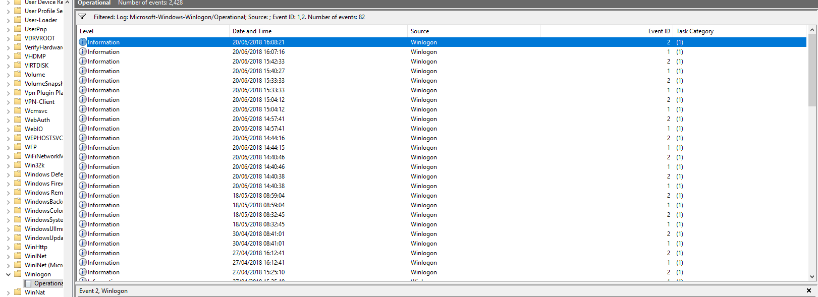 Intermittent Slow logon from Windows 10 Domain PC's Physical and