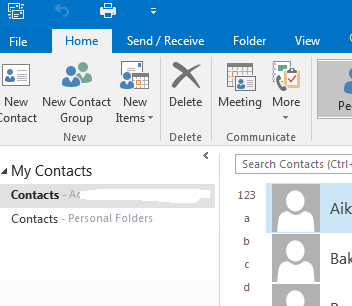 outlook 2016 address book not available microsoft community