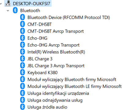 Windows 10 Bluetooth keeps disappearing and flashing in