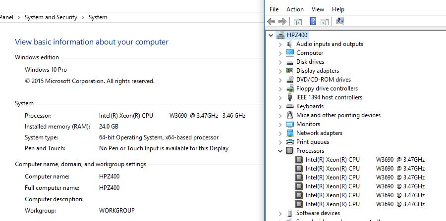Windows 10 Pro Fails to Recognize All Cores of Dual