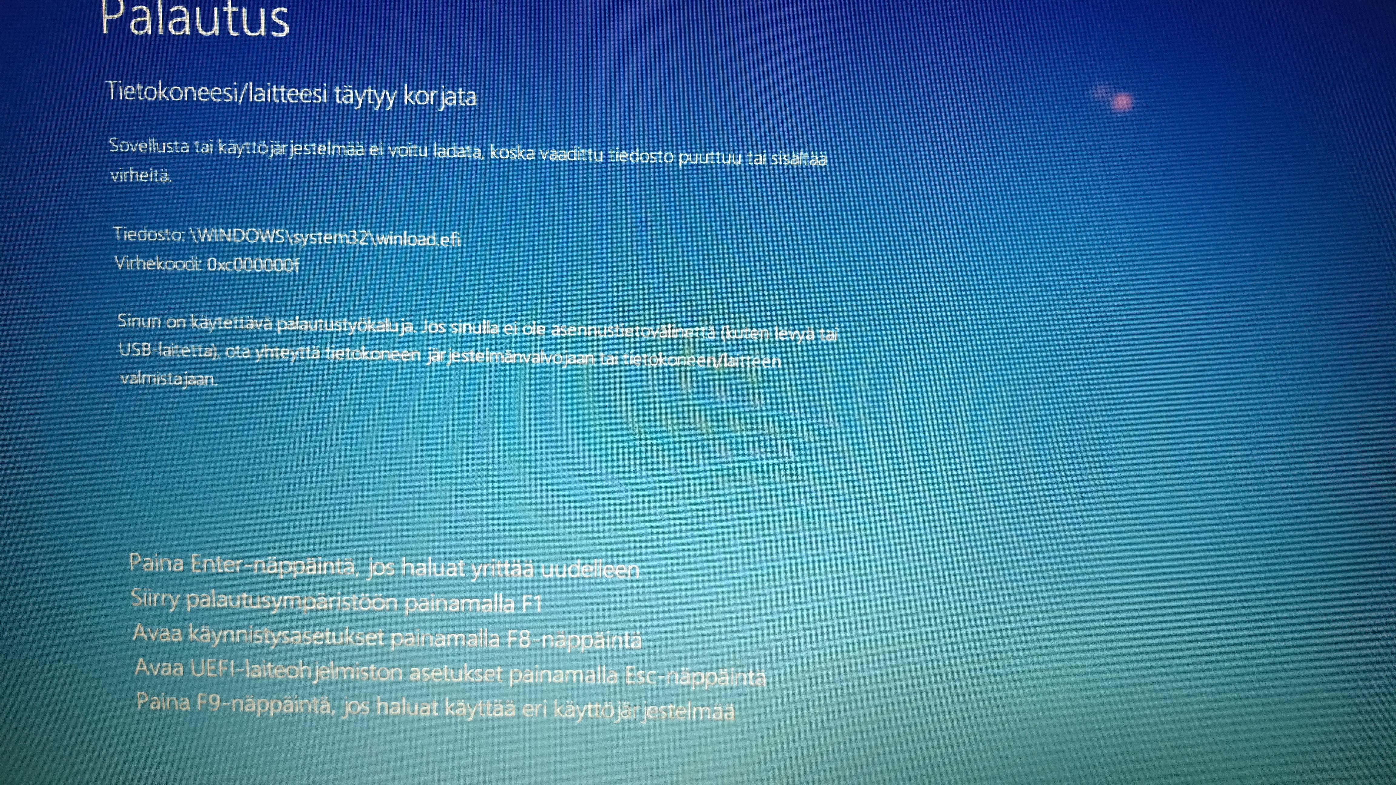 Windows 10 Jumittaa
