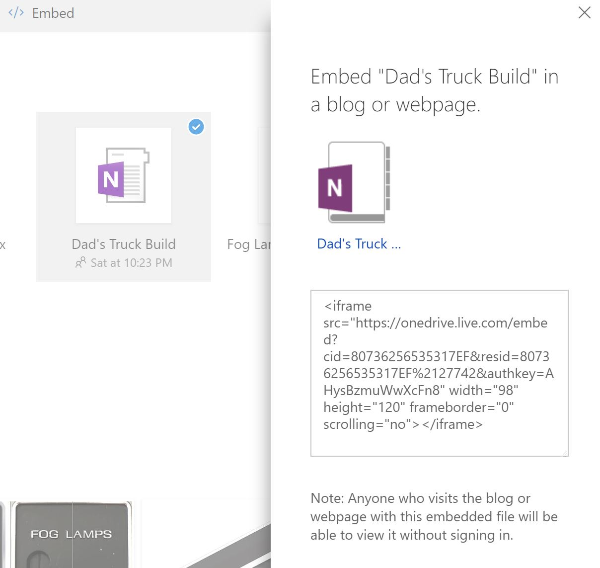 Embed Onenote from Office 365 Home Premium On Website - Microsoft