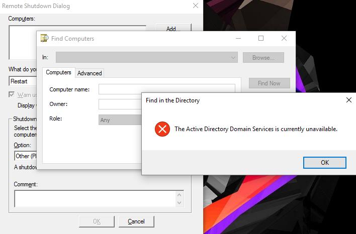 CMD Remote Shutdown - Microsoft Community