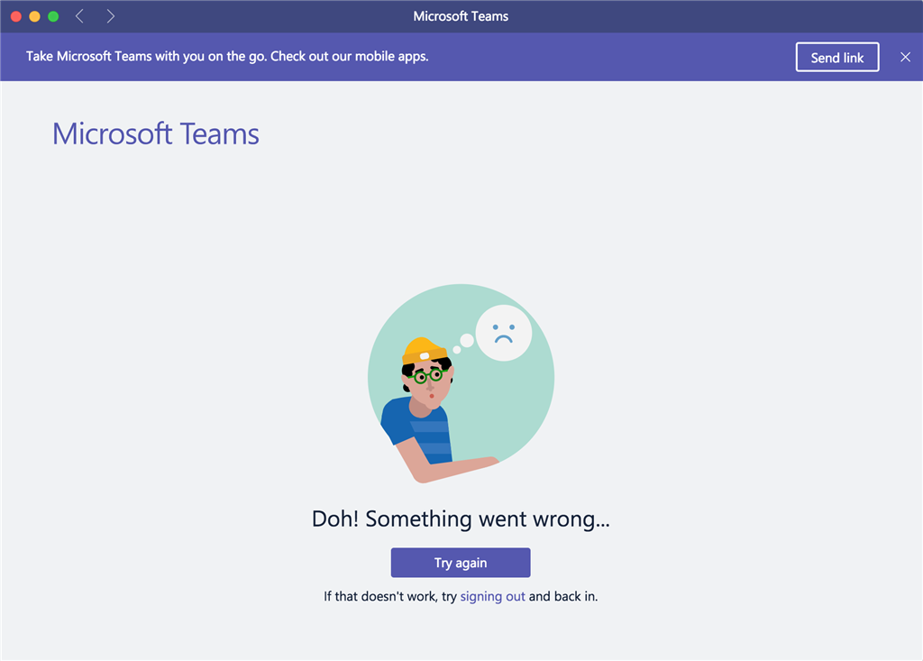 b75b781a6a84 Microsoft Teams desktop app not working on Macbook Pro - Microsoft ...