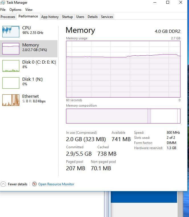Win 10 ATE my RAM - Microsoft Community