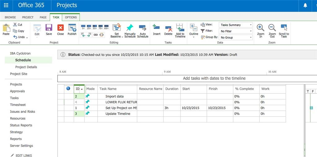 Where Is The File Resource Report View And Format Tab In Ms Project Microsoft Community