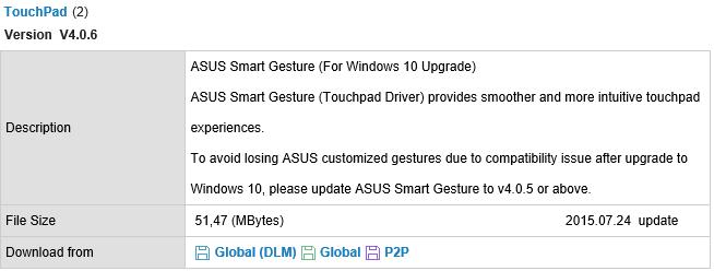 windows smart gesture download
