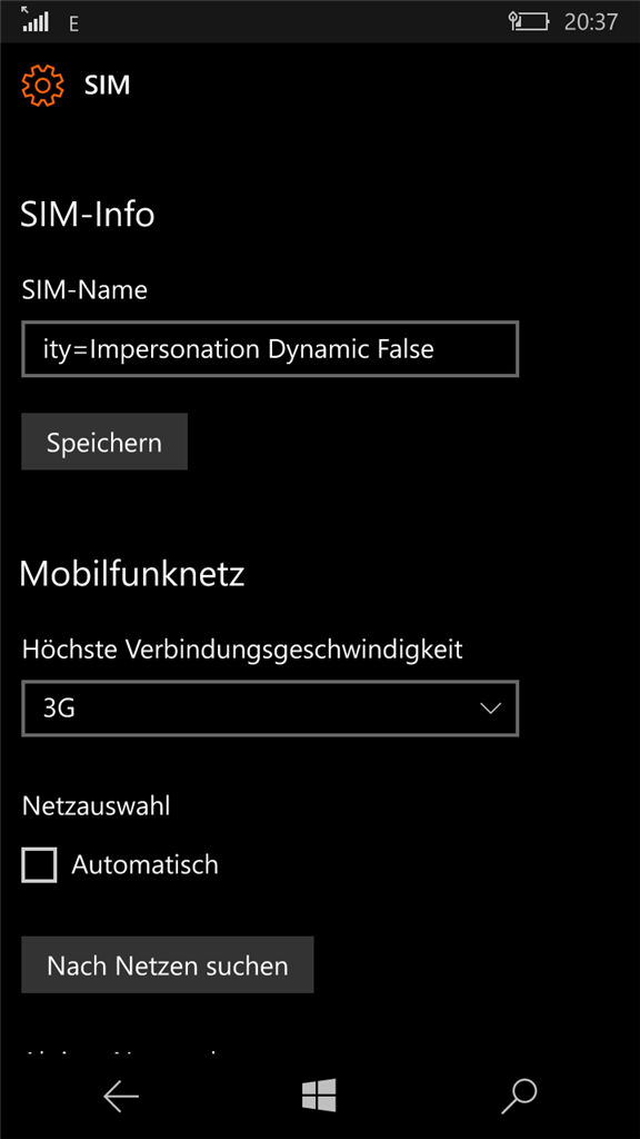 3G Modul Lumia 650 defekt?