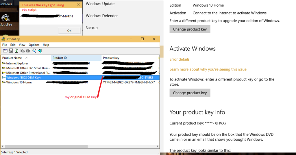 Activation error 0xc004c003 after upgrading to windows 10 from image ccuart Choice Image