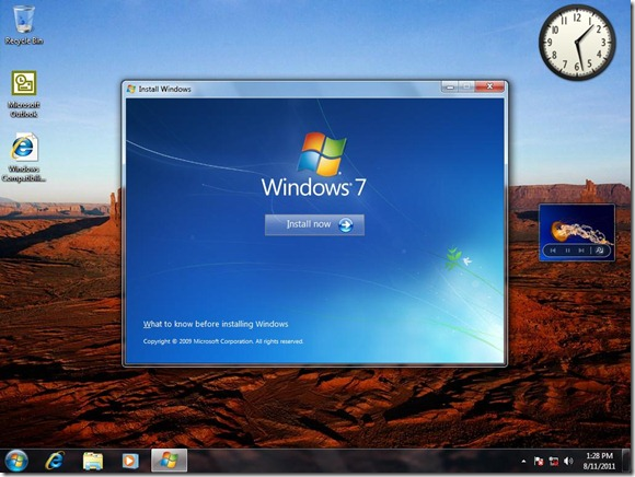 Downgrading from Windows 7 Ultimate to Windows 7