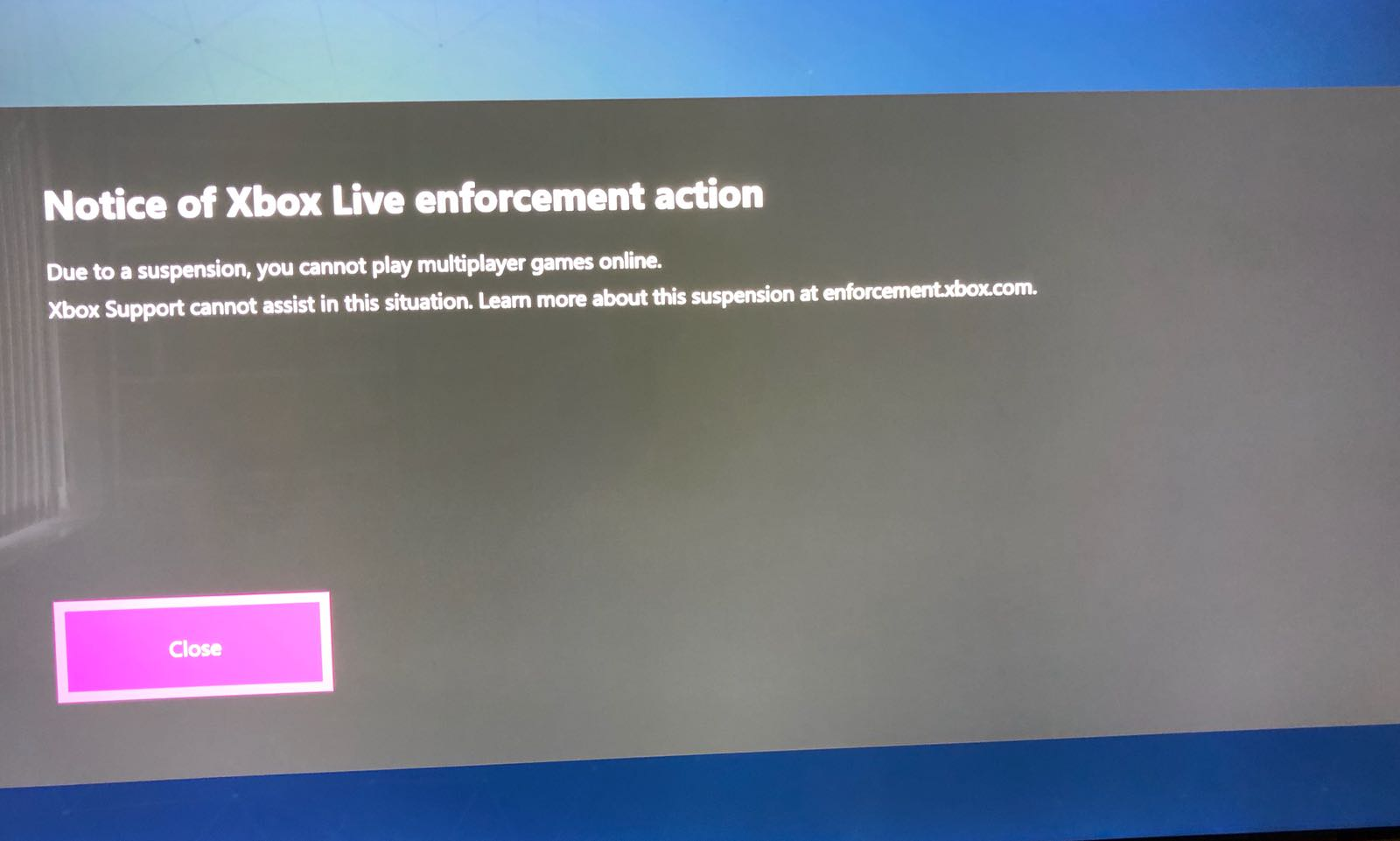 My 5 Year Olds Xbox Account is Suspended for Fraud and it as