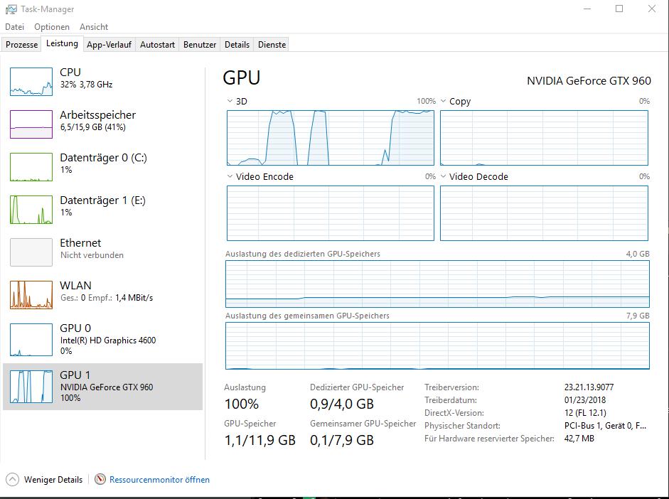 Grafikprobleme nach Windows 10 Update