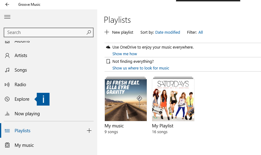 Playing your songs offline on Groove Music - Microsoft Community