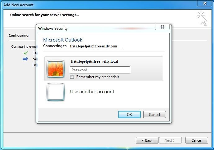 how to find email password in outlook 2013