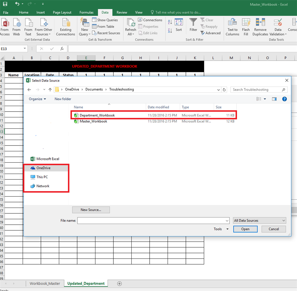 Workbooks shared workbook excel : Data from Master Workbook to be shared (or collaborated) with ...