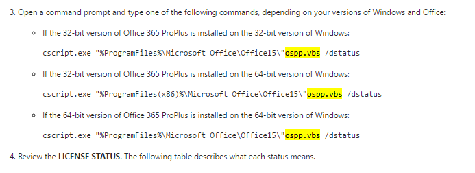 Is it required to re-install Office application when a student