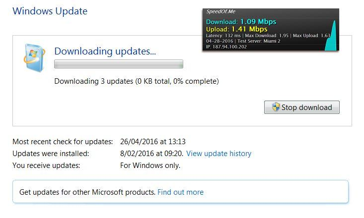 Microsoft broke their windows 7 update system even after i fixed.