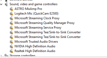 Sound drivers not working  - Microsoft Community